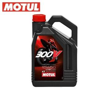 MOTUL 300V FACTORY LINE ROAD RACING 15W50【直輸入品】 4L